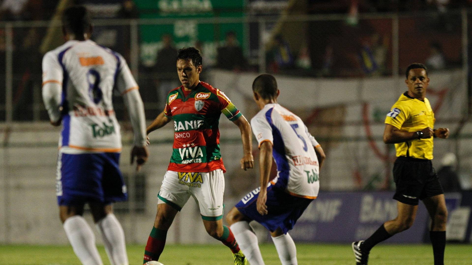 A Portuguesa derrotou o Duque de Caxias no estádio do Canindé por 4 a 0, pela Série B do Brasileiro