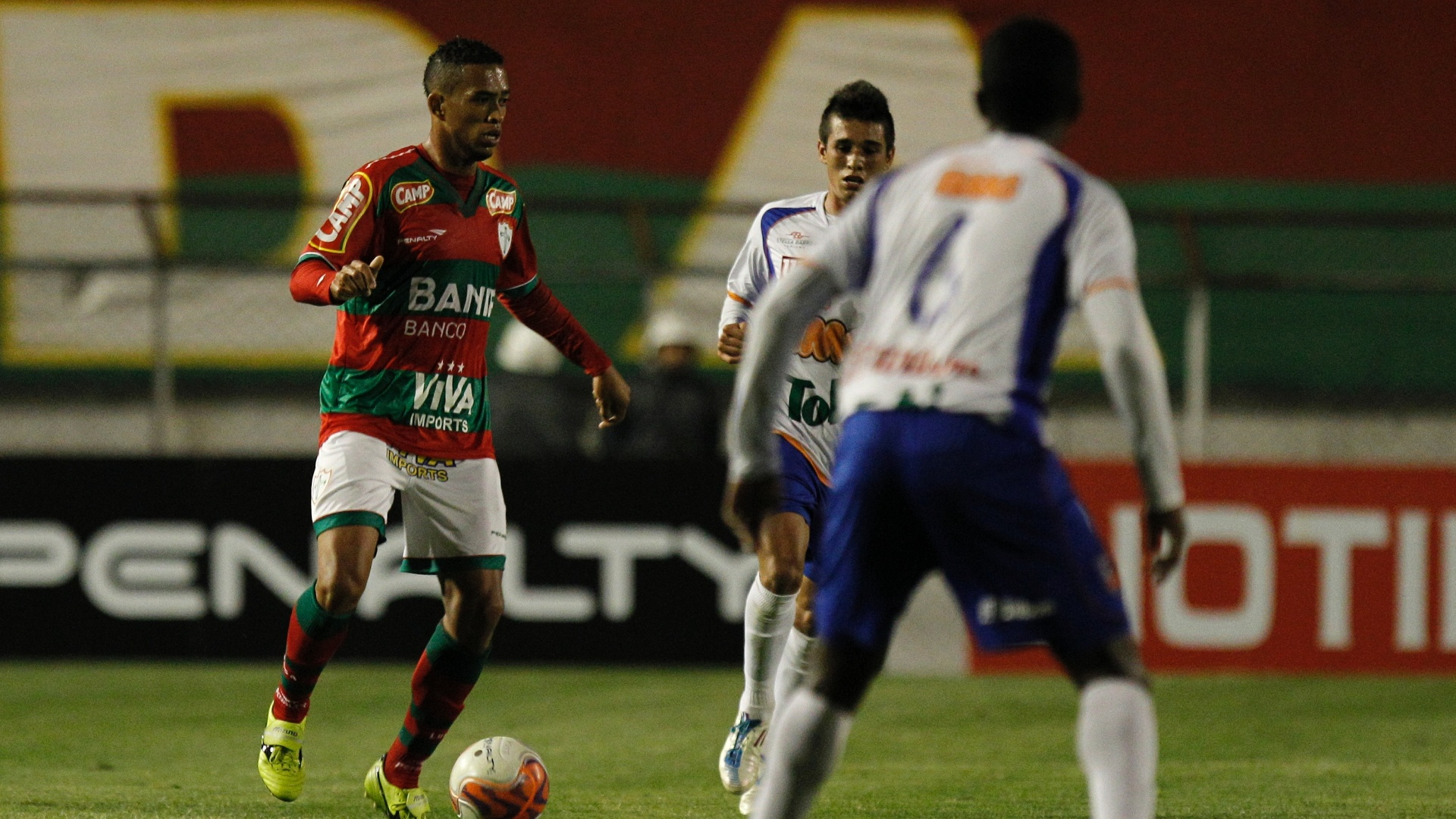 A Portuguesa goleou o Duque de Caxias por 4 a 0 no Canindé, pela 37ª rodada da Série B do Campeonato Brasileiro
