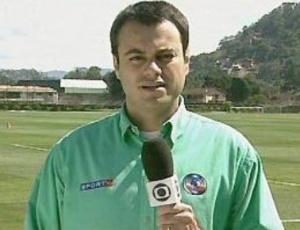 Eric Faria reagiu a gol na vitória do Vasco sobre o Fluminense em novembro do ano passado