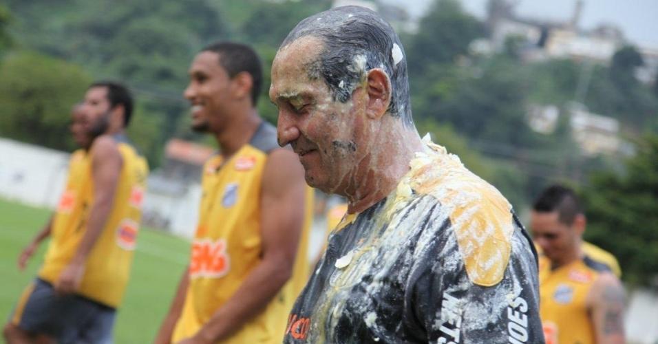 O Santos de Muricy Ramalho viaja na próxima terça para a disputa do Mundial Interclubes