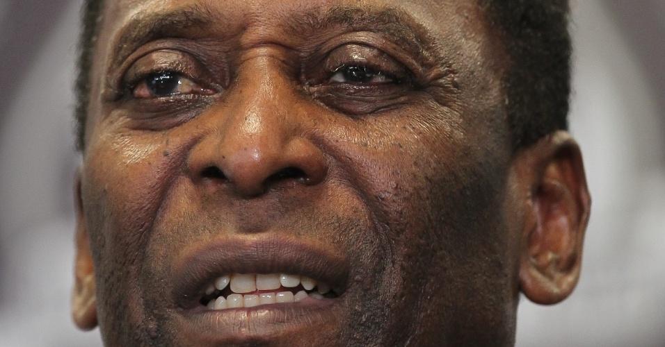 Pelé foi anunciado como embaixador do Santos para 2012, ano do centenário do clube da baixada