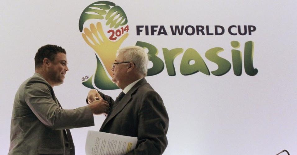Ronaldo pretende emprestar carisma neste período de preparativos para o Mundial