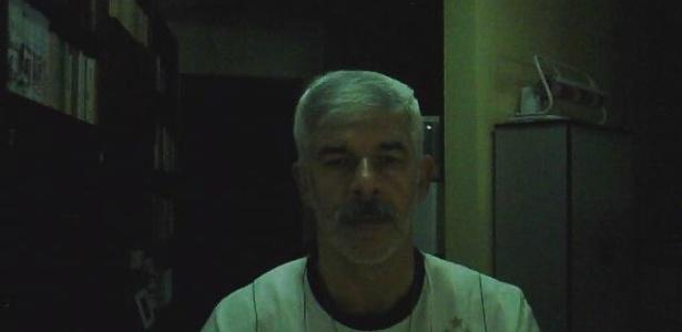 Alberto Santana comemorando o penta do Corinthians