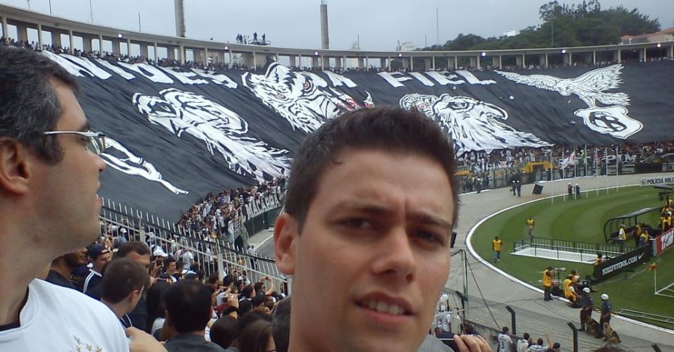 Leonardo Henrique Belloff no Pacaembu