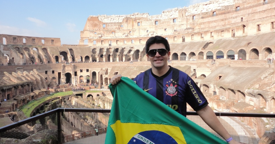 Leyser Rodrigues Oliveira: corintiano até em Roma