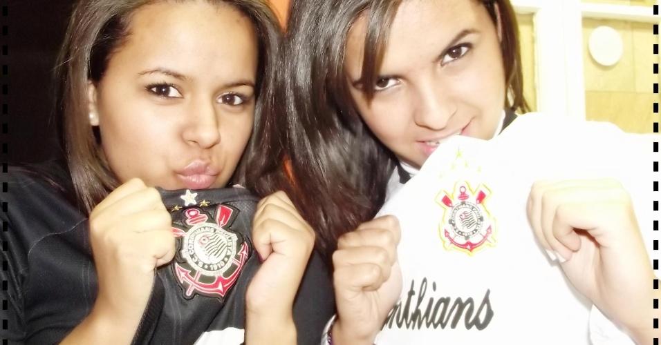 runa Cristina dos Santos Matias e Nathalya Matias: