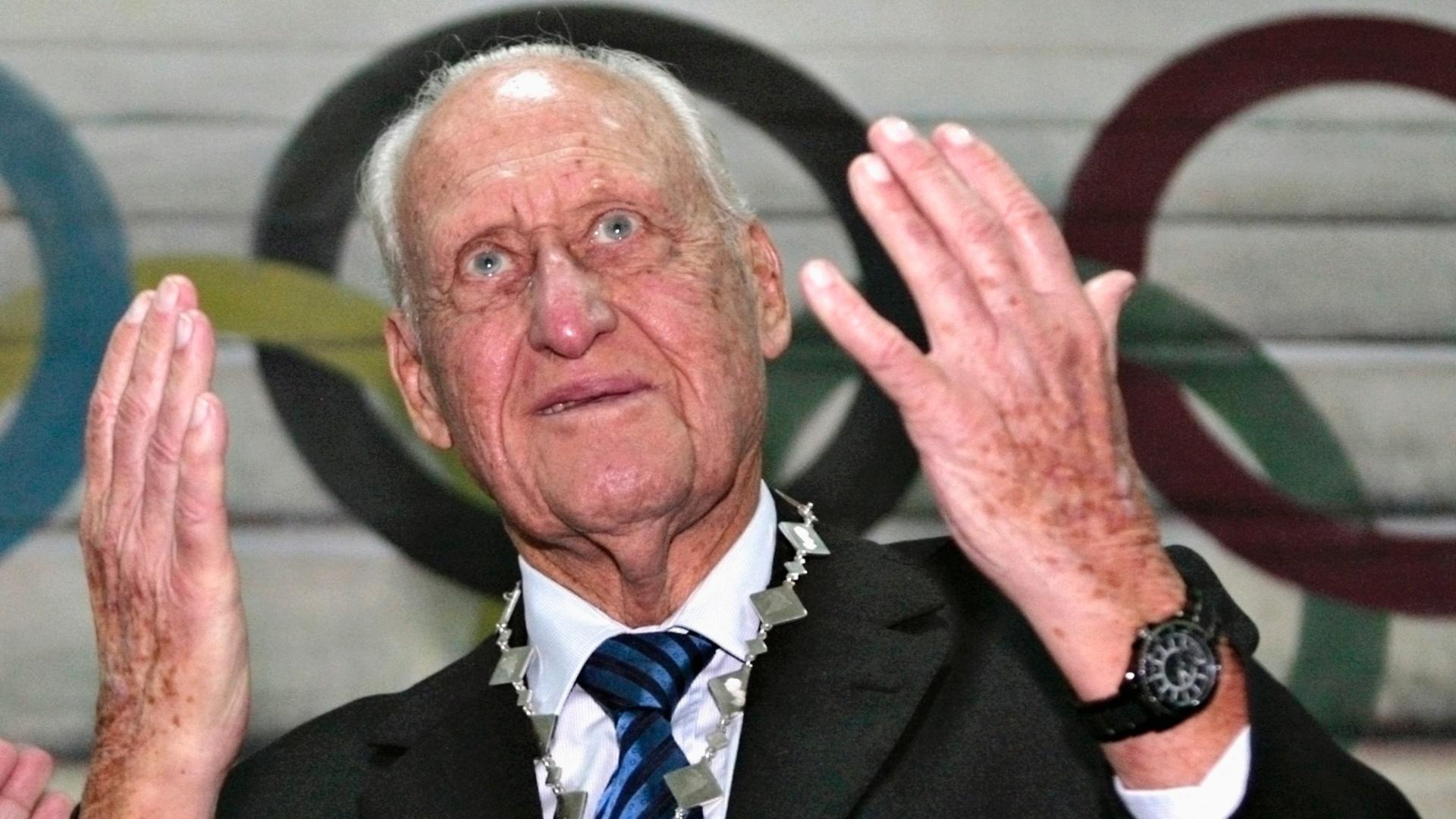 João Havelange é homenageado pelo Comitê Olímpico do Paraguai (28/01/2009)
