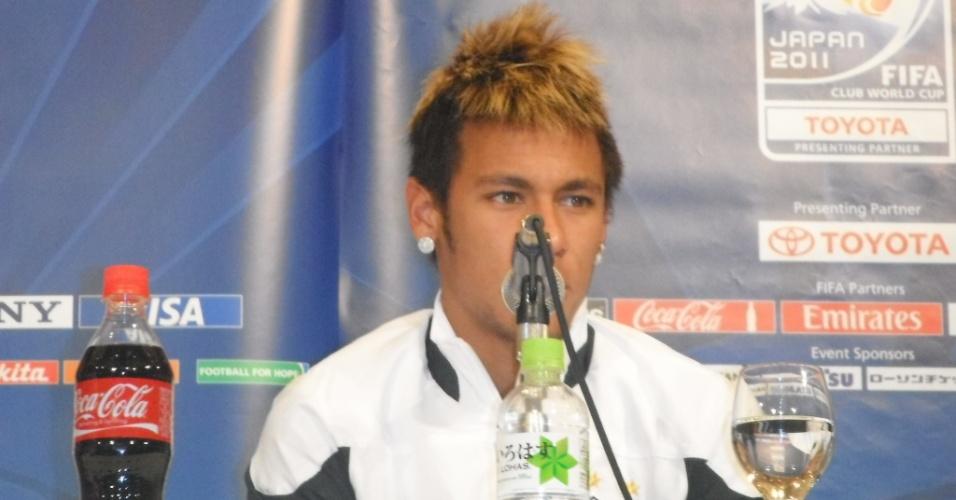 Logo na primeira pergunta, um jornalista procurou saber de Neymar qual era o segredo de seu sucesso