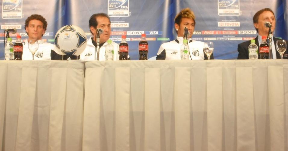 Muricy Ramalho evitou elogios ao Barcelona no evento organizado pela Fifa.