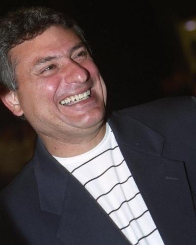 Cleber Machado em festa da Rede Globo