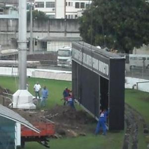O placar, que ficou em São Januário por 13 anos, será trocado por um maior e mais moderno