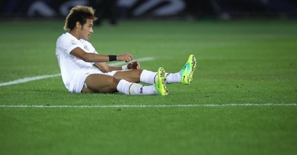 Neymar foi facilmente marcado pelo Barcelona