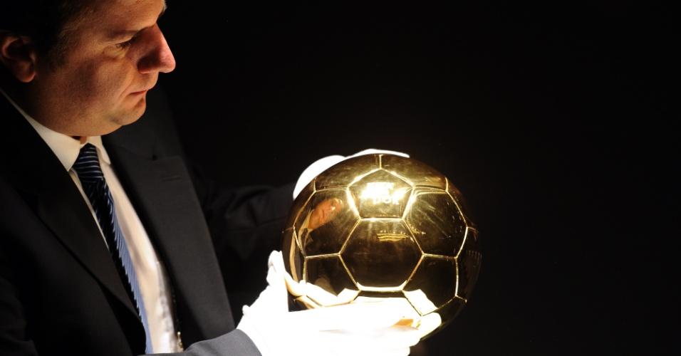 Bola de Ouro do Fifa entregue ao melhor jogador do mundo