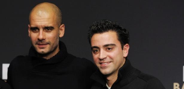 Guardiola e Xavi conquistaram tudo no Barcelona