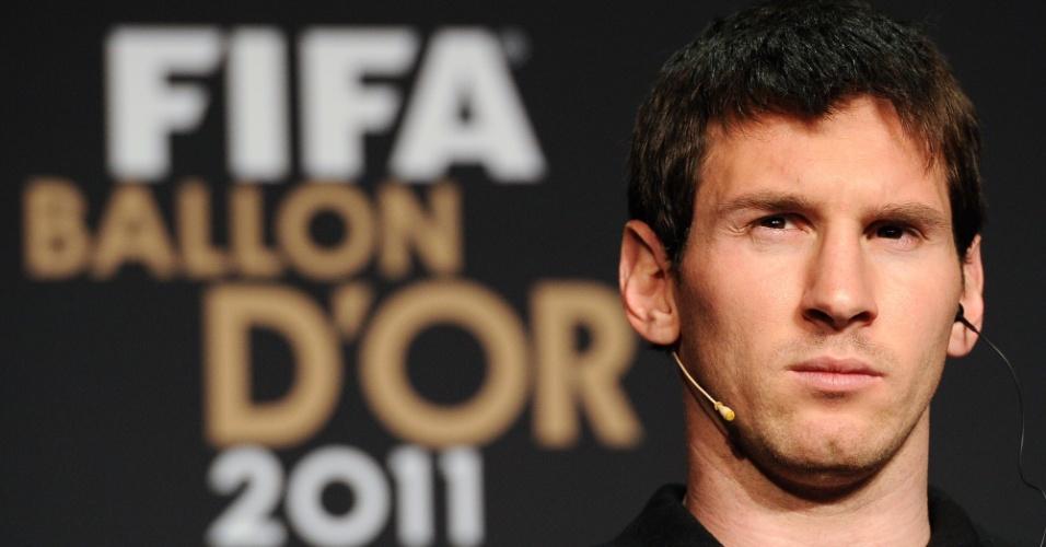 Messi levou a Bola de Ouro da Fifa