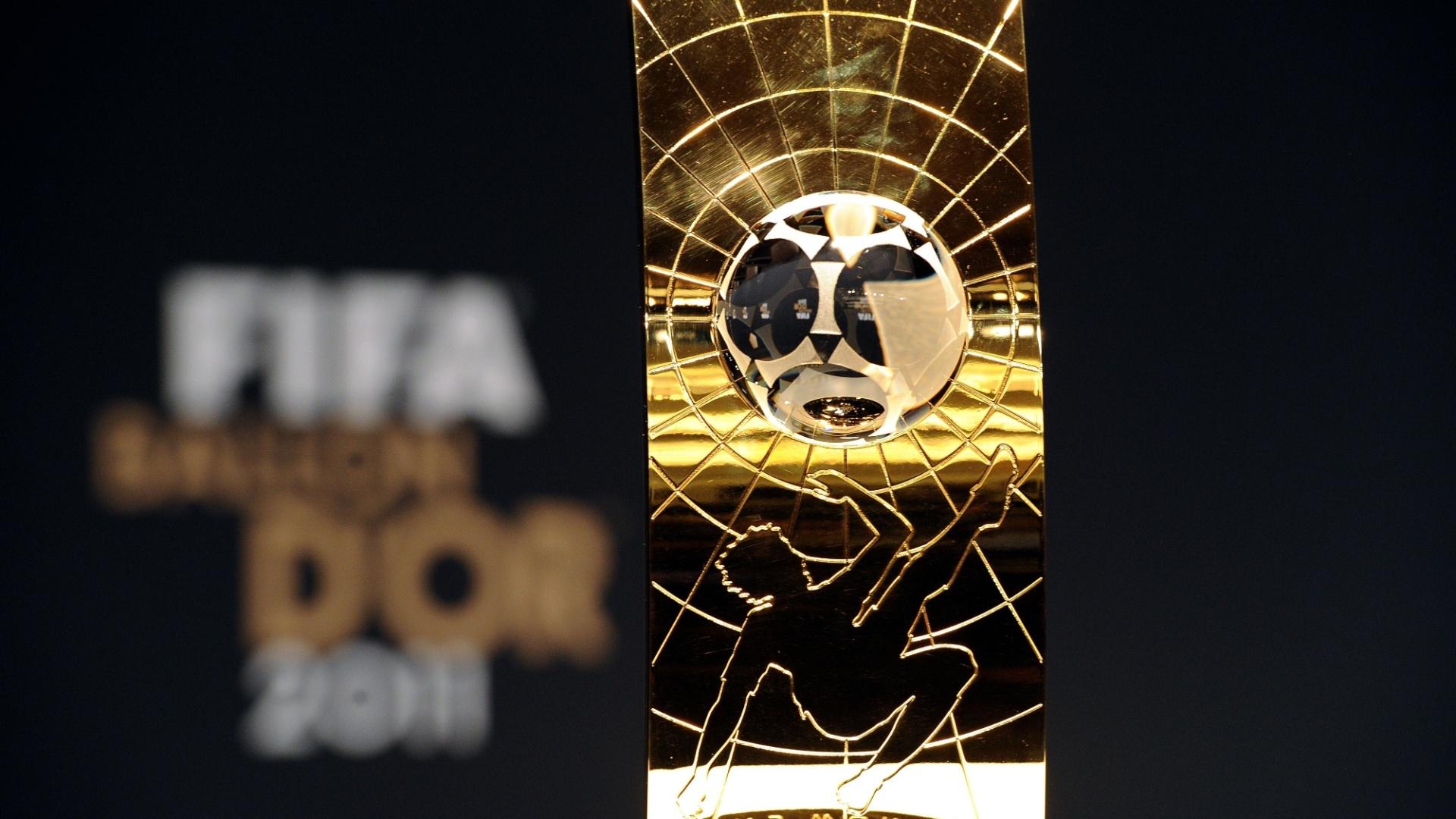 Troféu entregue pela Fifa à melhor jogadora do mundo