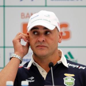 Marcos, ex-goleiro do Palmeiras, concede entrevista coletiva para explicar sua aposentadoria
