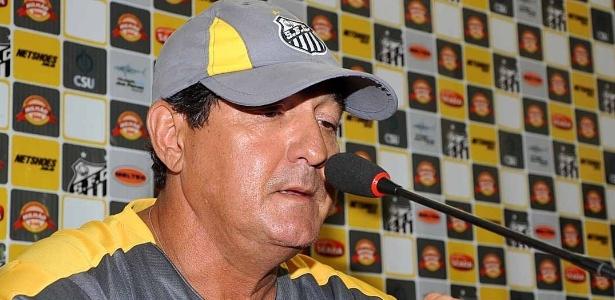"""""""É agora que os caras grandes do futebol mostram sua capacidade"""", disse Muricy - Divulgação/SantosFC"""