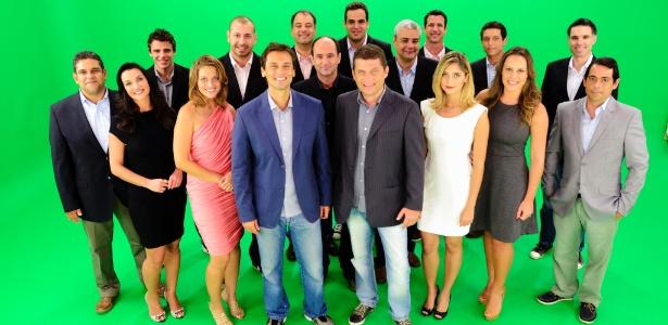Equipe de transmissões e jornalismo da Fox Sports, que estreia no dia 5 de fevereiro