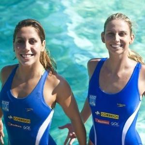 Lara Teixeira e Nayara Figueira, do nado sincronizado, puxaram a fila de conquistas no fim de semana