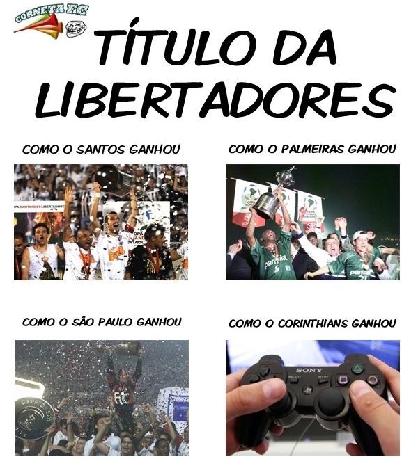 Ria do Corinthians: o ponto de vista das conquistas da Libertadores