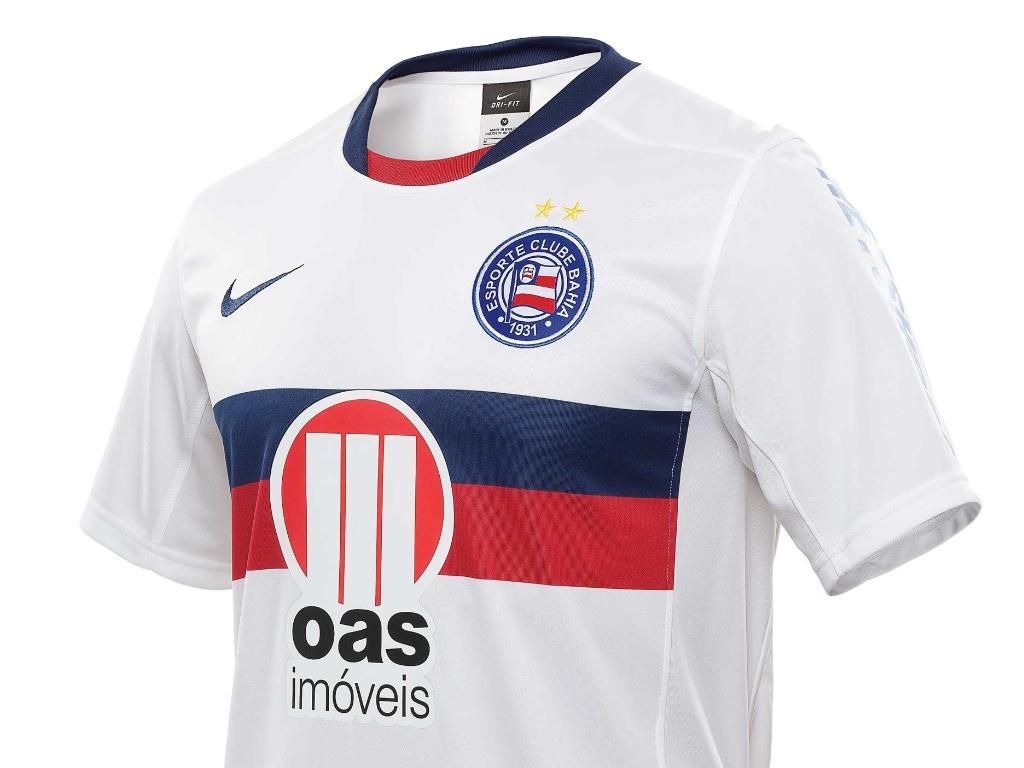 Imagem da nova camisa do Bahia, lançada pela Nike nesta sexta-feira