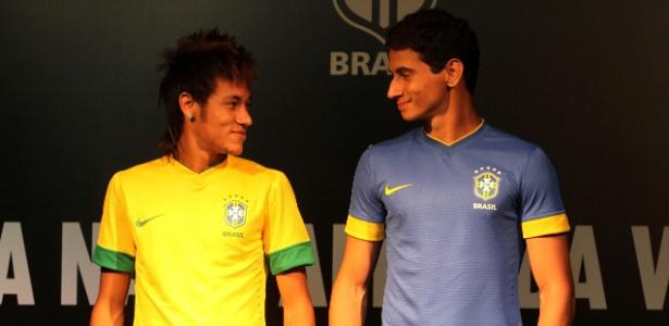 2f33cf58be432 Brasil apresenta novo uniforme da seleção e acaba com polêmica tarja verde