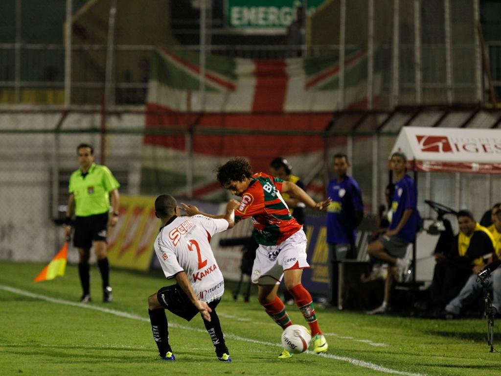 Portuguesa jogou mal, empatou em casa com o Ituano e segue fora do G-8