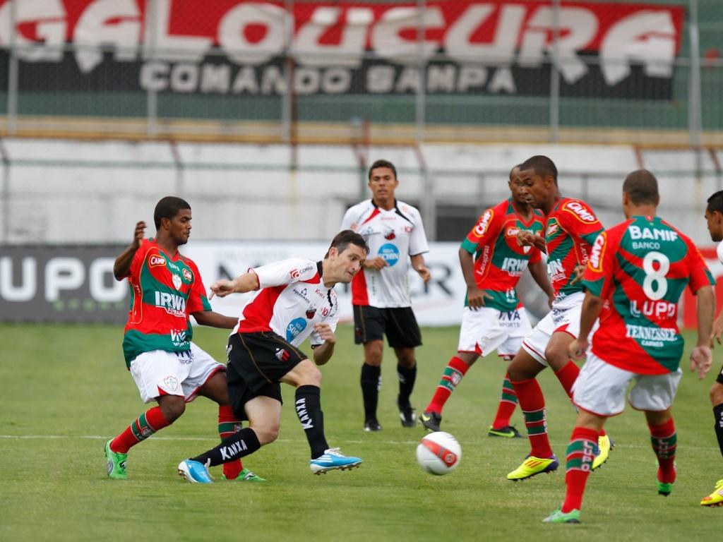 Portuguesa jogou mal e sofreu para empatar em casa com o Ituano, por 1 a 1