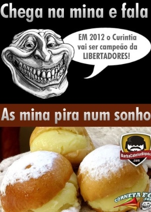 Corneta FC: As mina pira num sonho