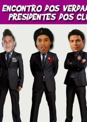 Corneta FC: Encontro dos verdadeiros presidentes dos clubes