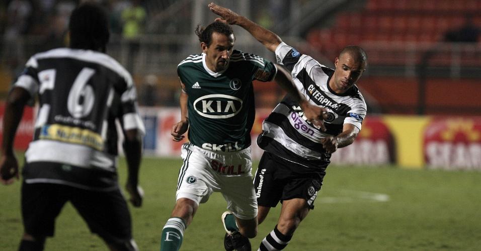 Contra o XV de Piracicaba, Hernán Barcos fez sua estreia pelo Palmeiras