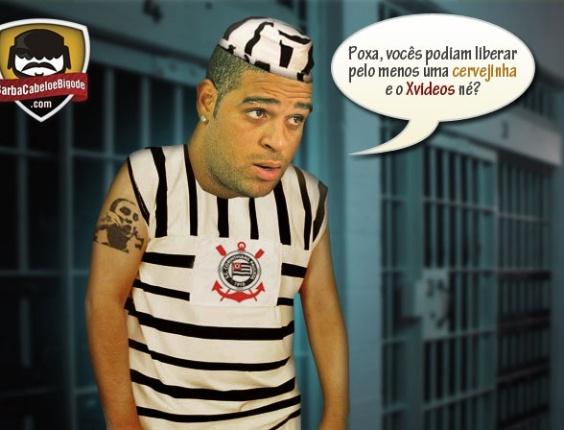Corneta FC: Adriano reclama do confinamento na concentração
