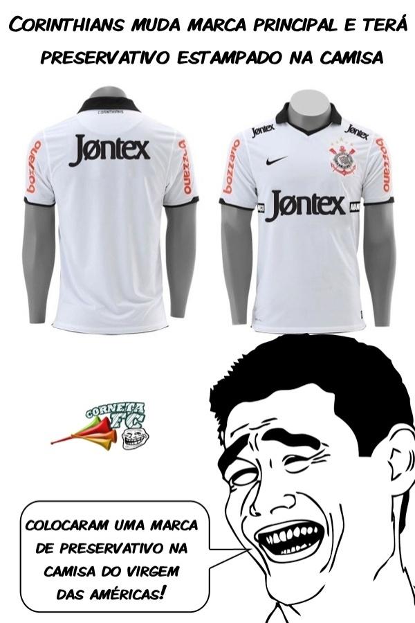Corneta FC: Preservativo para o virgem das Américas