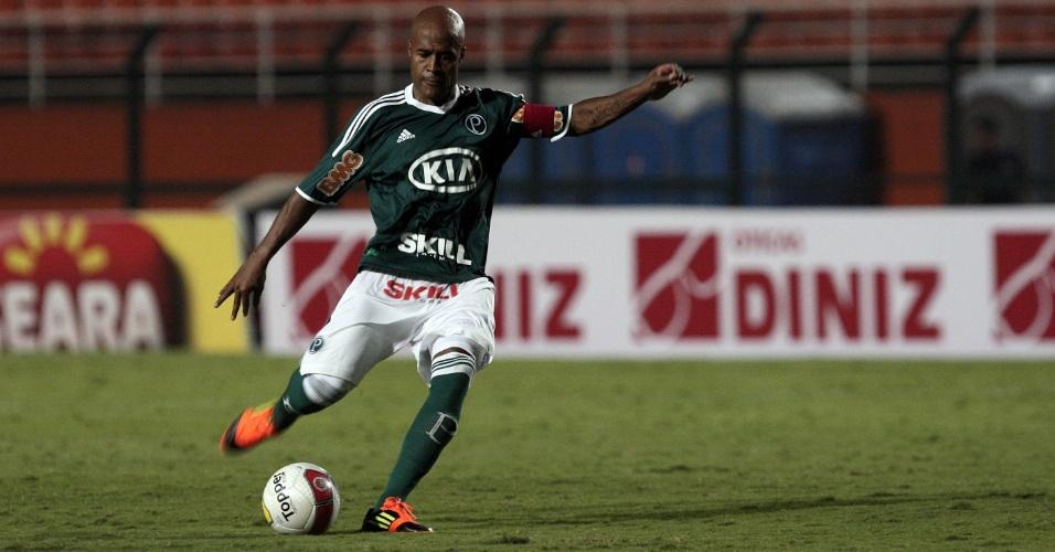 De falta, Marcos Assunção marcou o segundo gol do Palmeiras contra o XV de Piracicaba