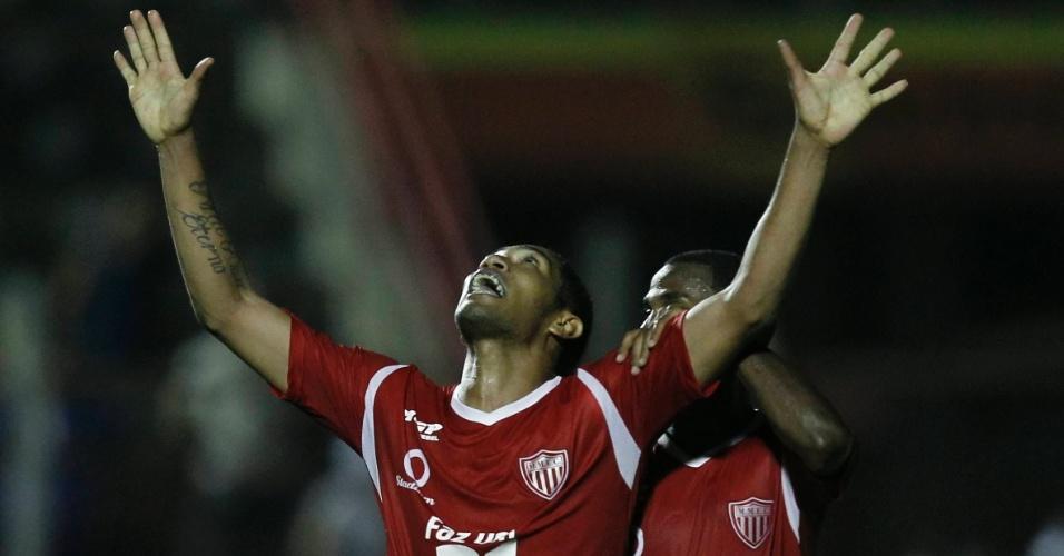No fim do jogo, Mogi Mirim buscou empate contra o Corinthians