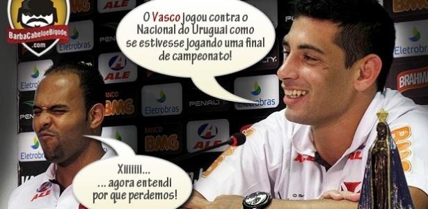 Corneta FC: Diego Souza explica derrota do Vasco