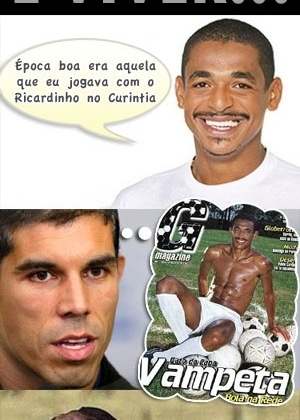 Corneta FC: Vampeta relembra passado no Corinthians com Ricardinho
