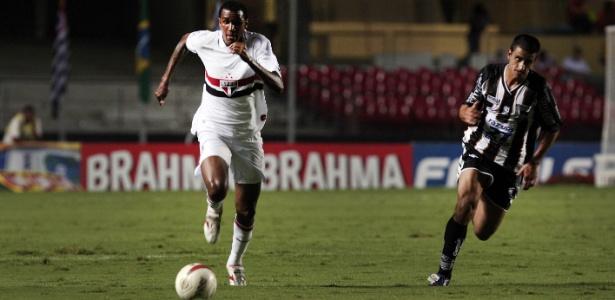 João Filipe defendeu o time do São Paulo por dois anos, entre 2011 e 2013 - Rodrigo Paiva/UOL