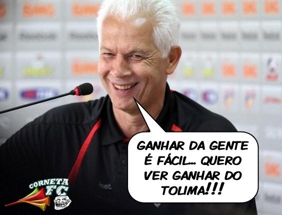 Corneta FC: Leão avisa: