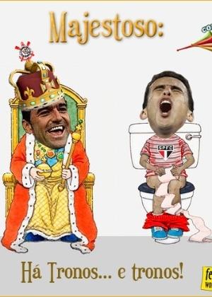 Corneta FC: Os tronos do Majestoso