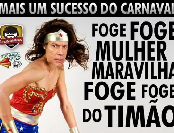 Corneta FC: Leão canta hit são-paulino para o Carnaval