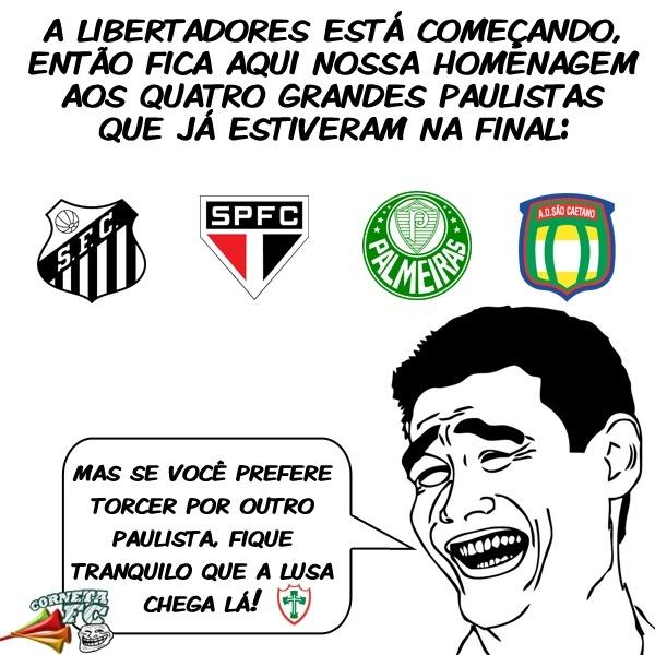 Coneta FC: Homenagem aos grandes paulistas na Libertadores