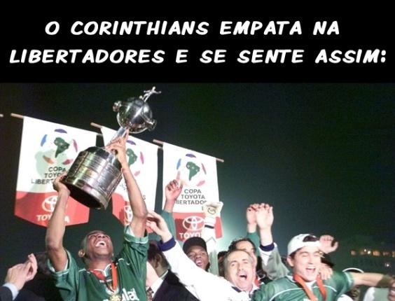 Corneta FC: Como o Corinthians se sente ao empatar na Libertadores