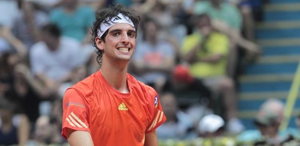 Thomaz Bellucci, número um do Brasil, nunca enfrentou o suíço Roger Federer
