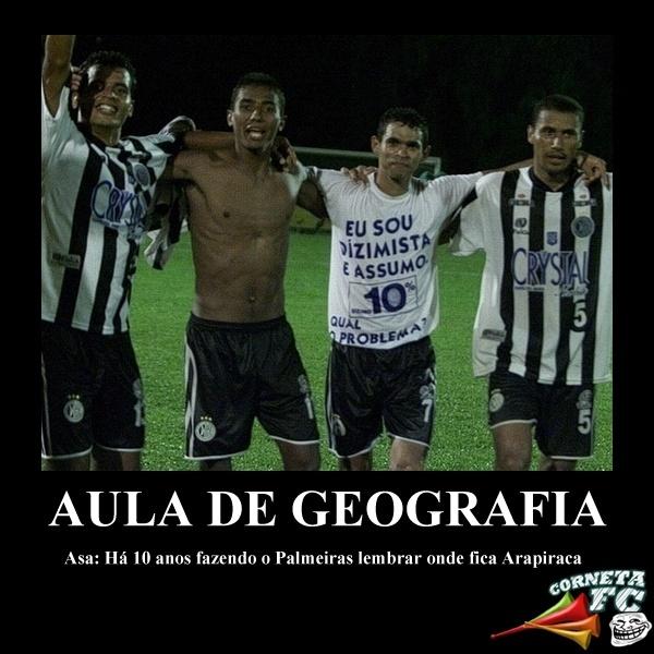 Corneta FC: Há 10 anos, Palmeiras dava vexame e era eliminado da Copa do Brasil pelo Asa