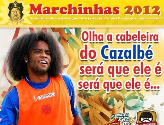 Coneta FC: Olha a cabeleira do Cazalbé...