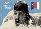 Peludo e de sunga, Spitz vira mito na Olimpíada de Munique-1972 - Arte UOL