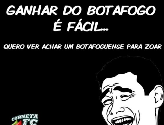 Corneta FC: Ganhar do Botafogo é fácil...