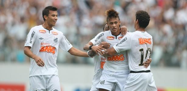 Neymar e Ganso foram decisivos na maior goleada do Paulistão deste ano